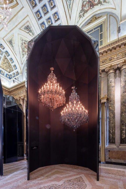 Lasvit Empress at Palazzo Serbelloni