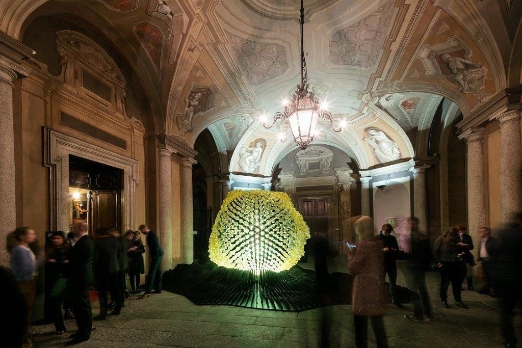 Lasvit Intergallactic at Palazzo Serbelloni