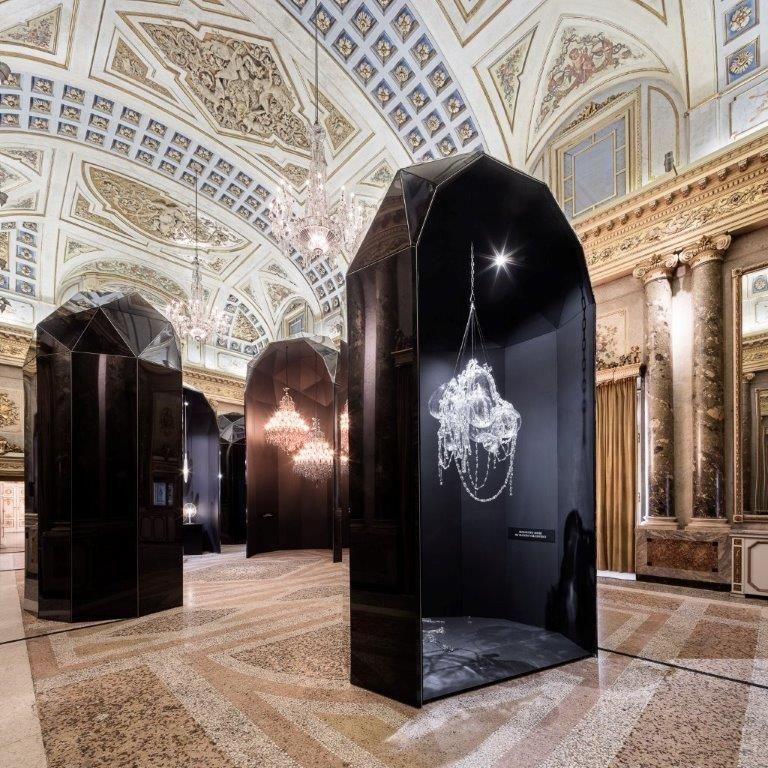 Lasvit Memento Mori at Palazzo Serbellloni